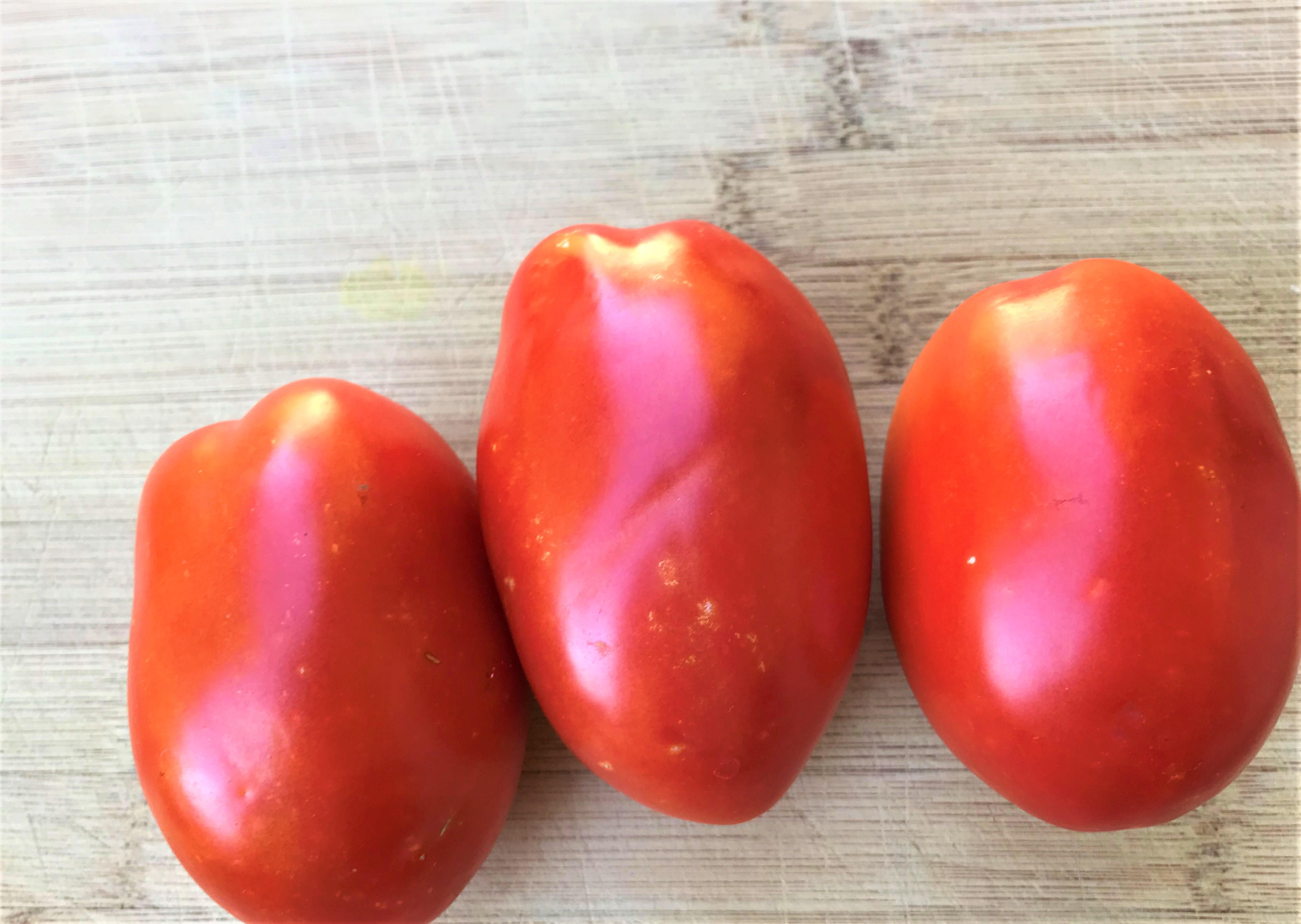 Plum or Roma tomatoes