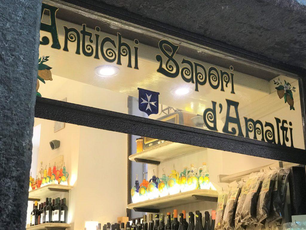Antichi sapori limoncello Salerno