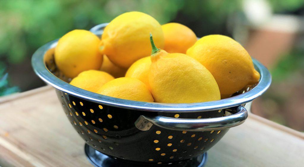 California Meyer lemon