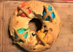 Casatiello Italian Easter Bread