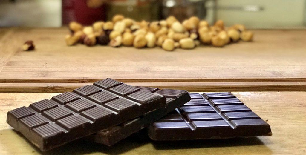 Chocolate Beet cake hazelnuts