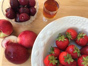 zabaglione fruit
