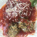 Meatless Mushroom Meatballs and Parm
