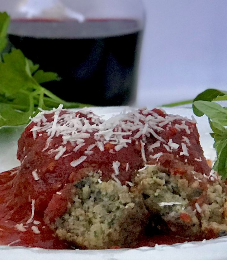 meatless Mushroom Meatballs