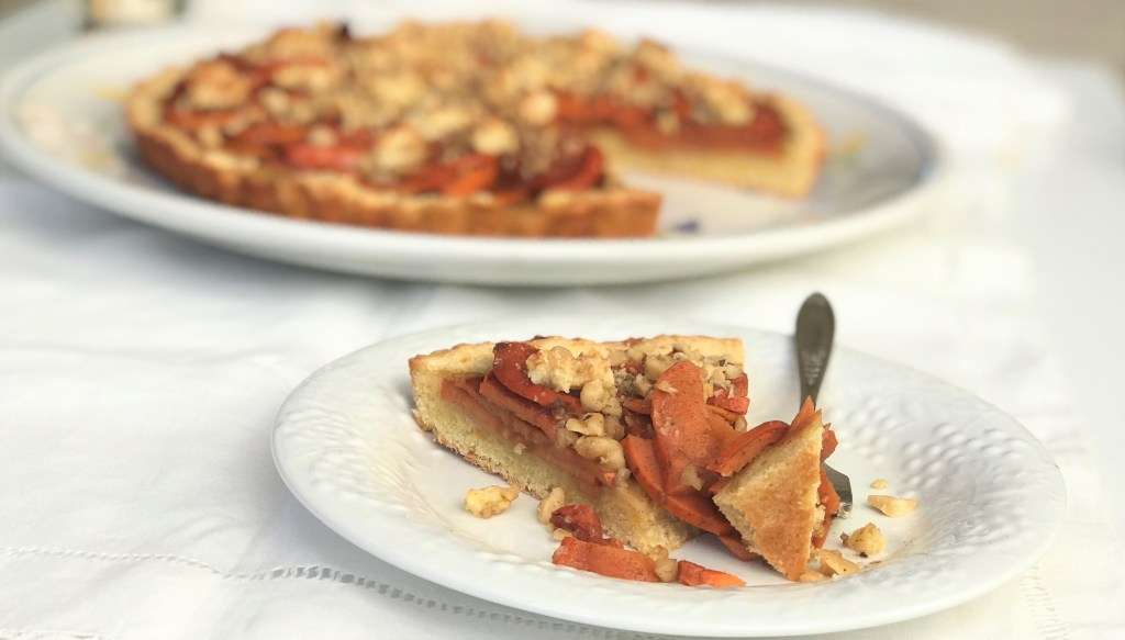persimmon tart fuyu