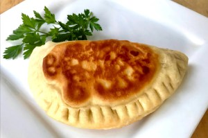 meatless calzone
